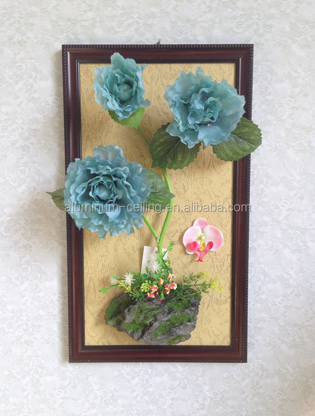 Wall hanging silk flower gorgeous peony DIY Living Room Hanging Flower