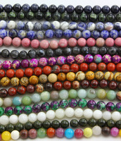 Big factory professional manufacturer hundreds of natural semi precious loose stone beads for jewelry making