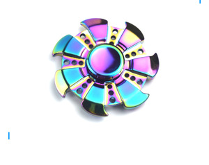 QS brand Long Spinning Time High Speed toy fidget Spinner