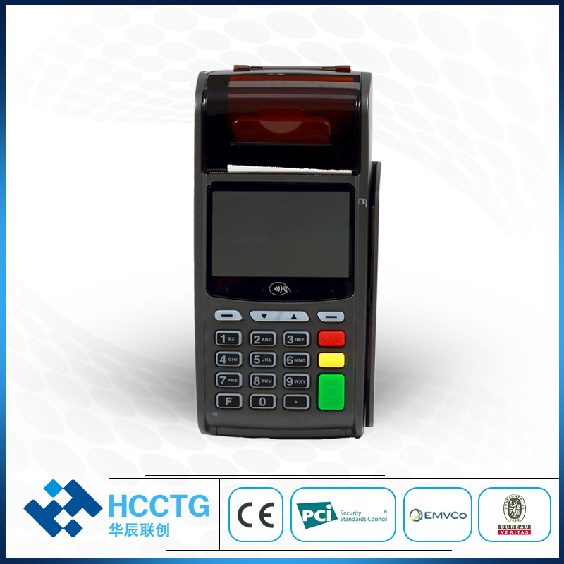 PCI Certification Smart Handheld Linux Based POS Terminal With EPP Pinpad M3000