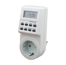 Germany plug Digital Timer switch socket for electric appliance