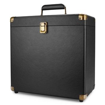 7 Inch Retro Vintage Leather Lp Vinyl Record Carry Case,Custom Logo Leather  Vinyl Lp Storage,Black Lp Vinyl Record Storage Boxes - Buy 7 Inch Retro