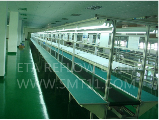 LED TV Assembly Line Table for Production Lines 5