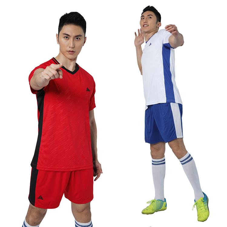 2018 Aangepaste ontwerp sublimatie truien voetbal en voetbalshirt set