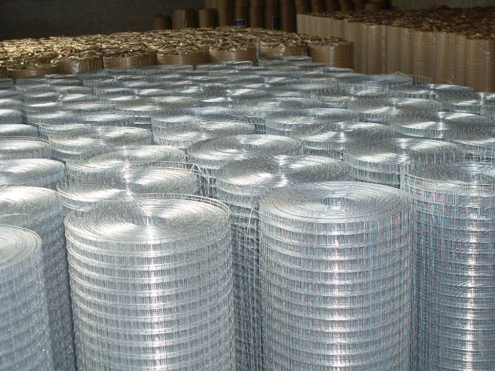 1 4 Inch Galvanized Welded Wire Mesh Fence Panels In 12 Gauge For ...