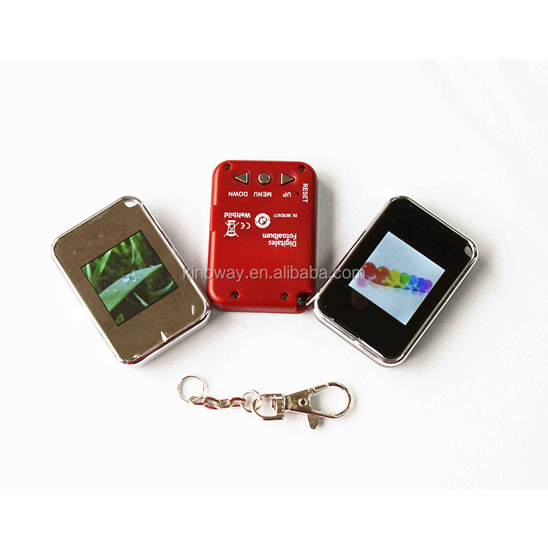 1.5 inch key ring digital photo frame