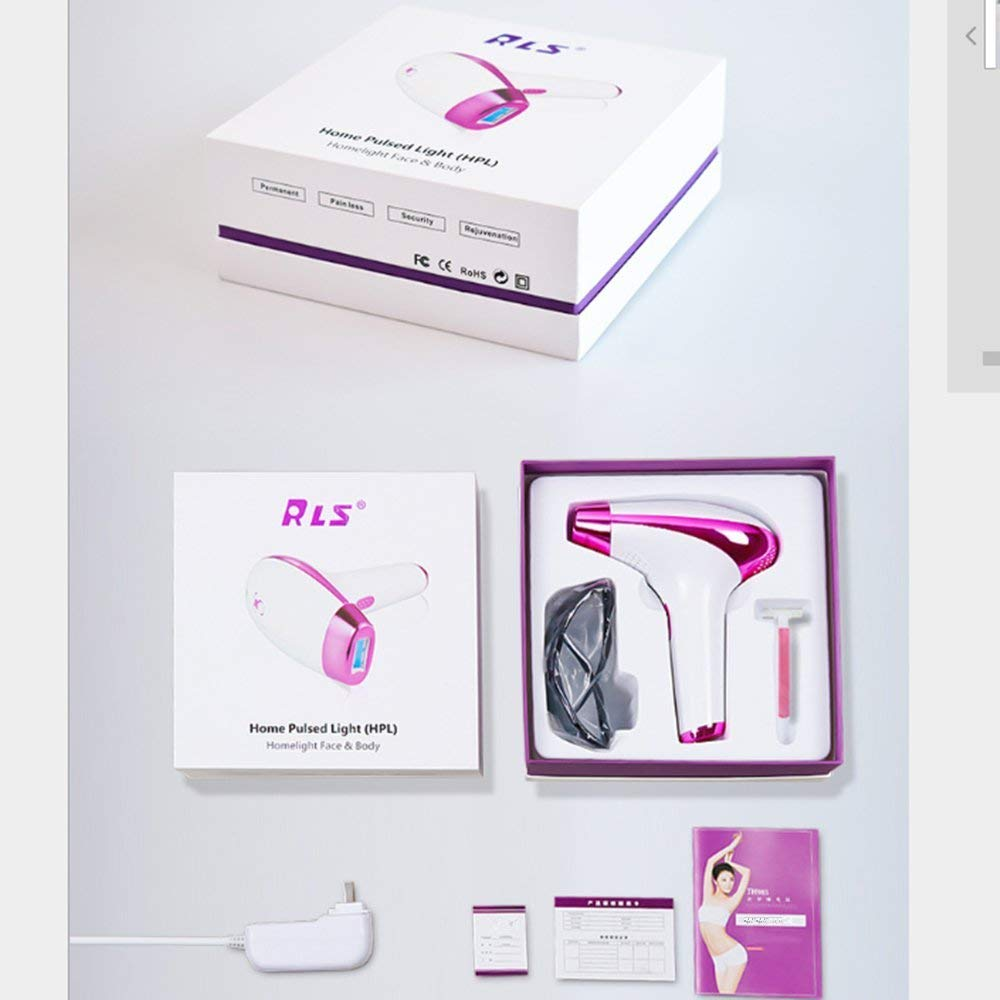 0f8447ab942 Get Quotations · ZSWELL IPL Permanent Hair Removal Device Reliable Body  Hair Removal System Uses Intense Pulsed Light Technology