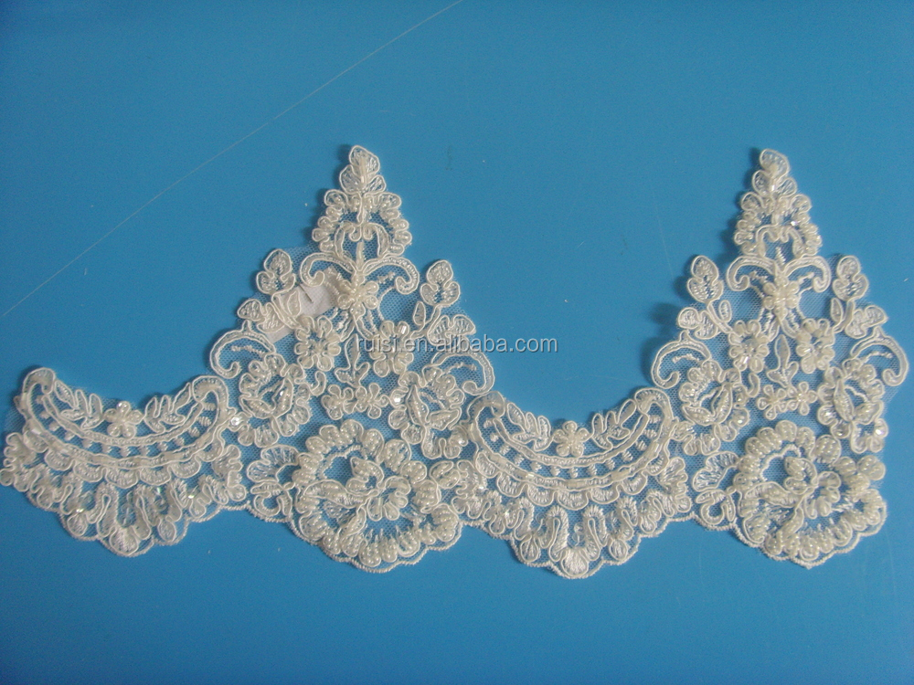 Hot Sale Border Lace,Embroidery Bridal Lace Trim For Wholesale ...