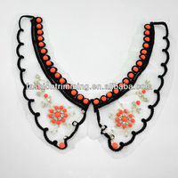 China A stone polyester Collar