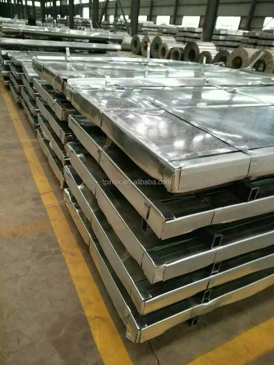 wuxi tp inox 1.2mm thick 440 stainless steel sheet