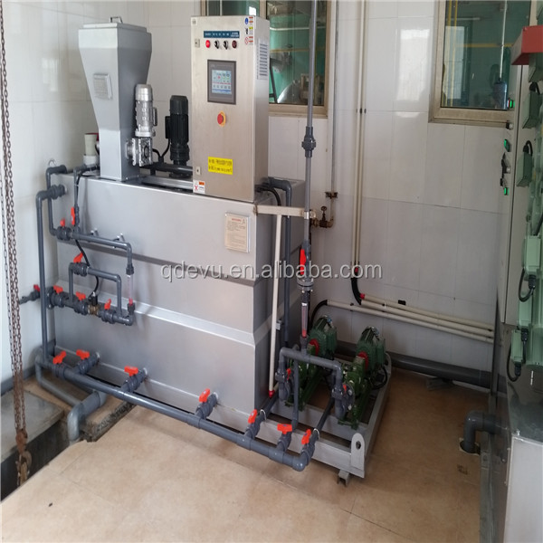 waste water treatment Automatic chemical polymer dosing system