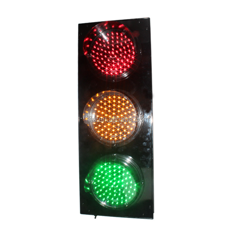 traffic warning light red yellow green color led traffic light signals