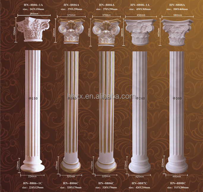 Roman Column Pillar Home Decoration Building Material