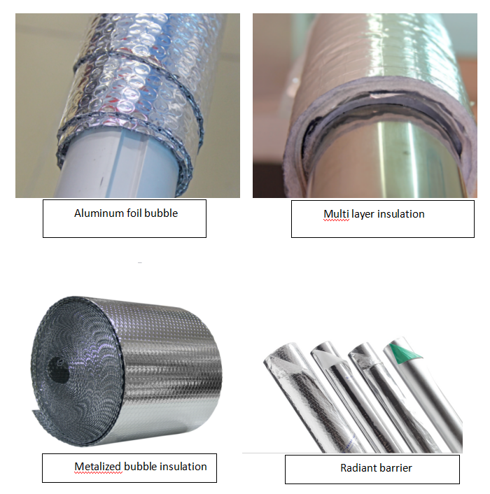 Pipe Insulation Products,Aluminum Pe Foam Insulation Inside Around Ductwork  Ducts - Buy Aluminum Insulation Ducts,Insulation Around Ductwork,Pe Foam