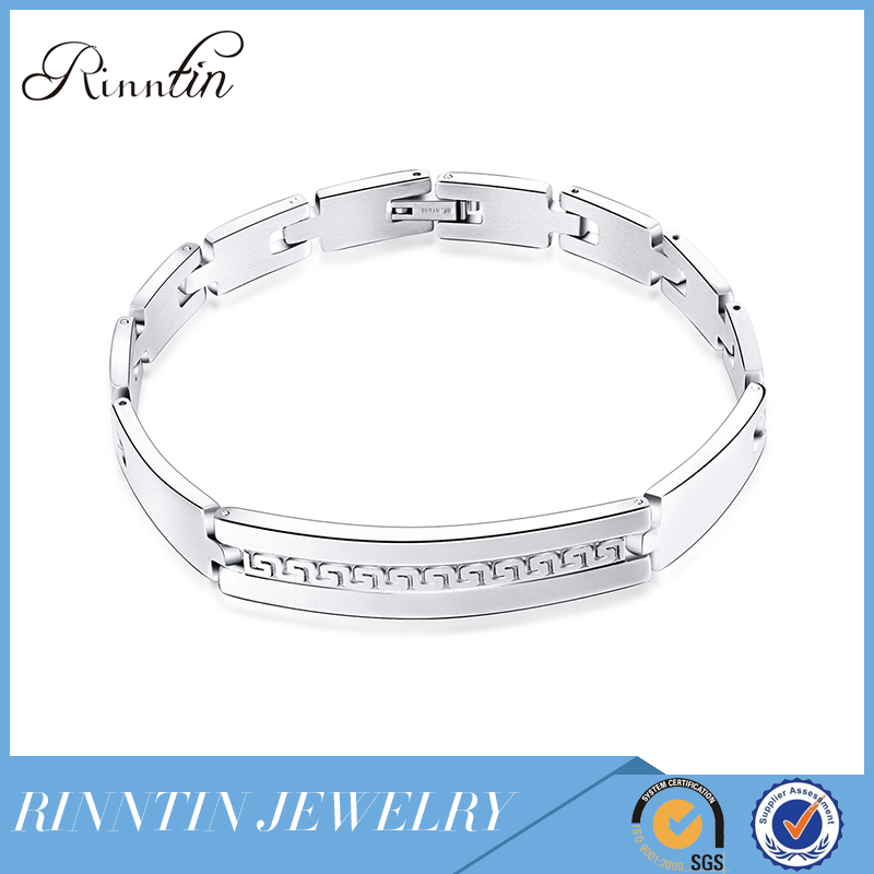 Rinntin New Trend Best Products Stainless Steel Bracelet For Mans Gift RIGTB75