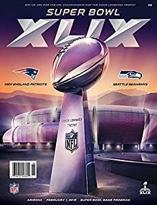 2015 Super Bowl XLIX Official Program