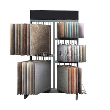 Decorative Ceramic Tile Sample Displays Showroom Show Stand Granite And Marble Tile Display Stand
