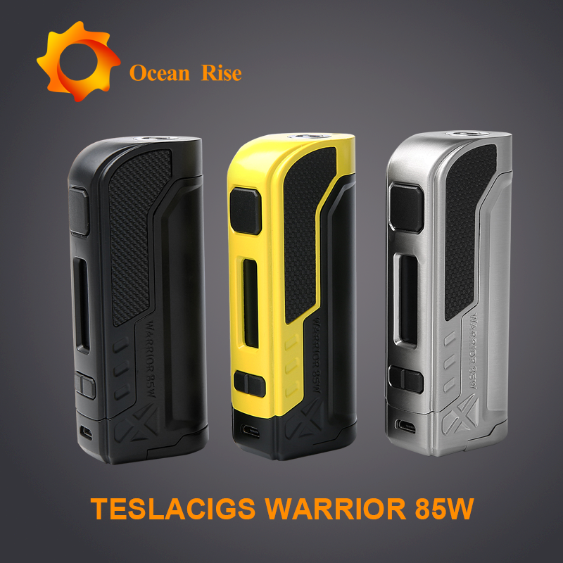 Newest vape device Tesla Warrior 85W with excellent function, good touch feeling,mini compact shape