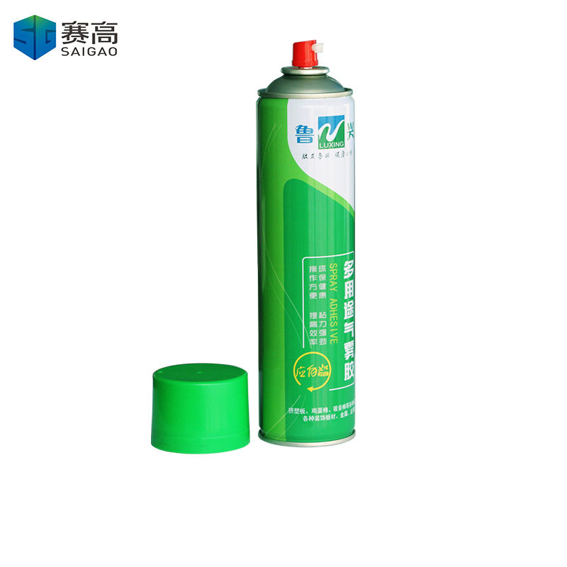 Environmentally Aerosol Spray Glue For Sponge Soundproof Cotton Hand Spray Glue