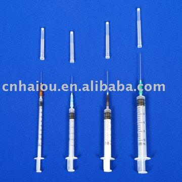 Three Parts Syringe (auto Disable Syringe)