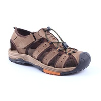 Professional Wholesale Customization Men's Breathing Summer Outdoor Genuine Leather Sandals