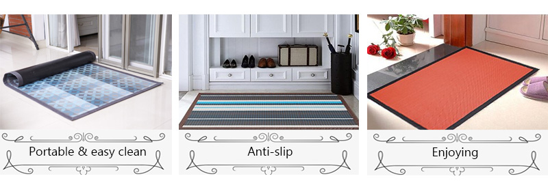 waterproof rag living room pvc carpets rug for home