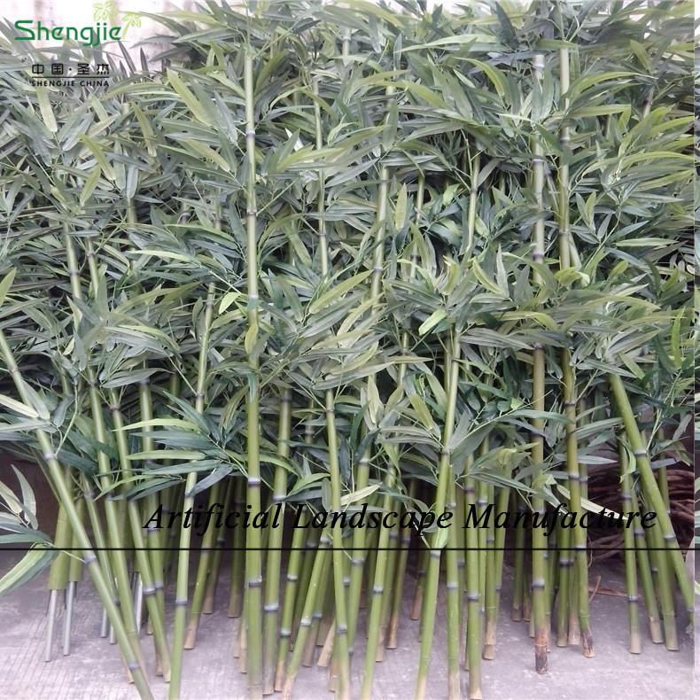 Sjnb17 pas cher en plastique bambou bambou artificielle for Bambou en plastique
