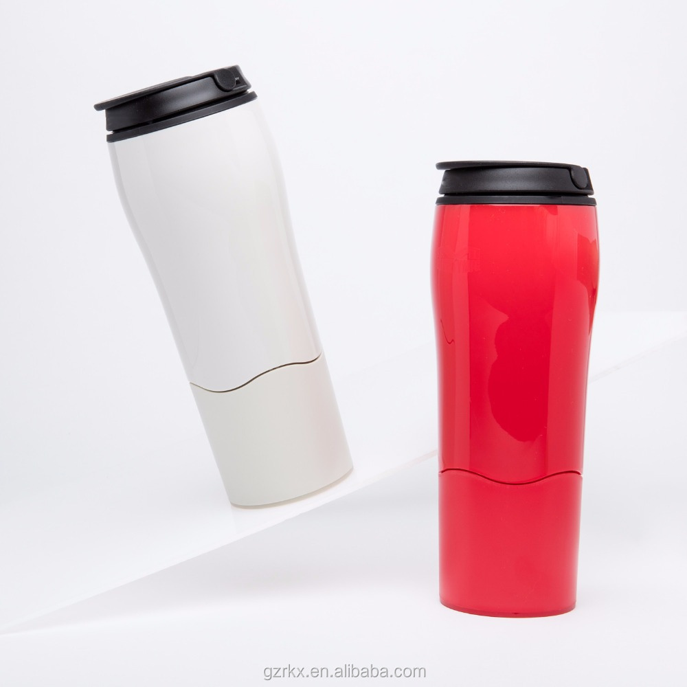 NEW Mighty Mug Magic Tumbler Mugs Insulated Vacuum Cup plastic suction cups,550ml plastic coffee mug for office never fall over