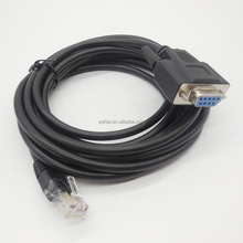 Wholesale VGA Cable DB 9PIN RS232 Serial to RJ45 Audio speakers Cable