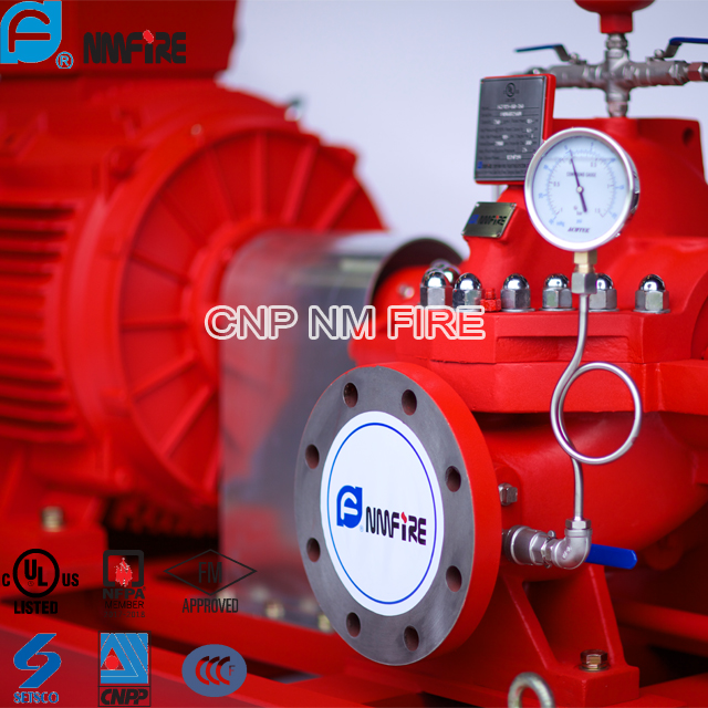 Ul Listed Nfpa20 500gpm Fire Firghting Pump Set With
