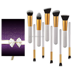 New Arrival Brushes 10-Piece Professional Makeup Brush Set with Gift Box