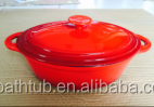 cast iron saucepan fry deep pan with Lid for sale for china good quality