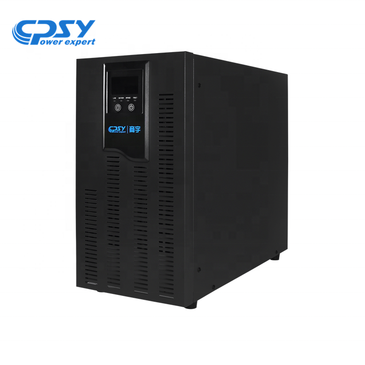 UPS Manufacturers 3 Level Inverter technology UPS 6KVA  4.88KW High Frequency online UPS power supply for office