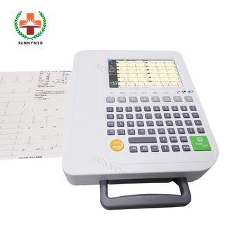 Sy H022 Medical Equipment Price List Ekg Portable Ecg Machine Cost