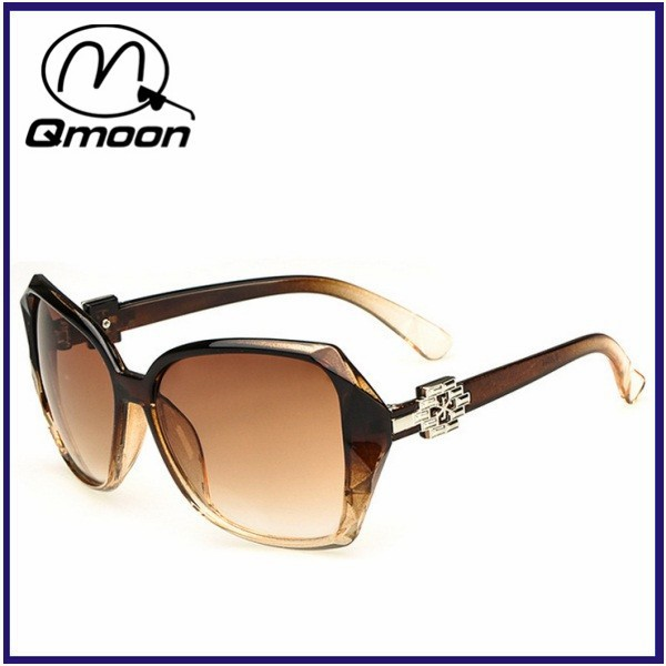 fashion big size frame brown lens custom sunglasses brand your own from China sunglasses market