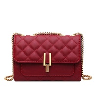Summer latest new fashion quilted lady handbags designer mini woman chain crossbody bag