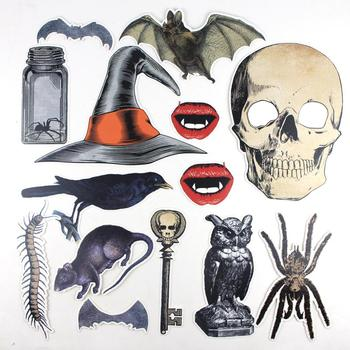wholesale halloween photo booth props set party decoration