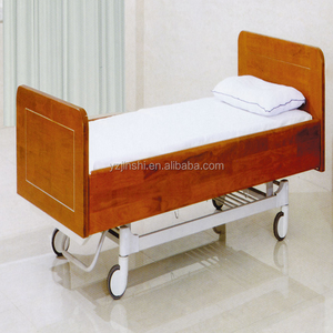 2 Function electrical Wooden Hospital Beds