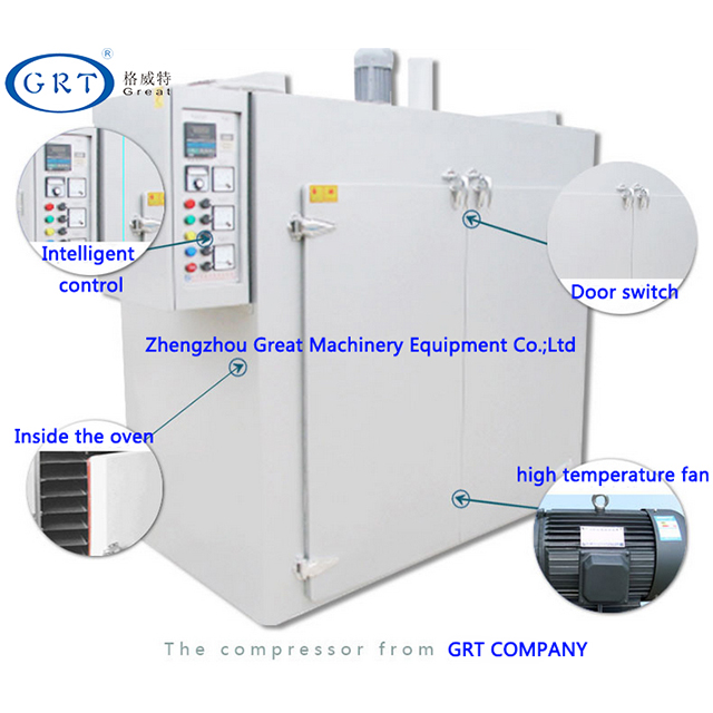 Industrial stainless steel hot air circulation box-type dryer/maple leaves drying machine