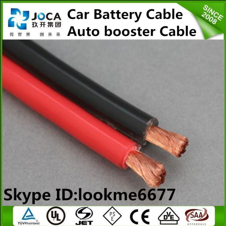 0AWG Copper PVC Insulated Red Car Audio Power Cable