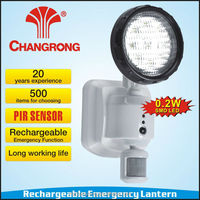 Hot selling microwave sensor rechargeable emergency channel light
