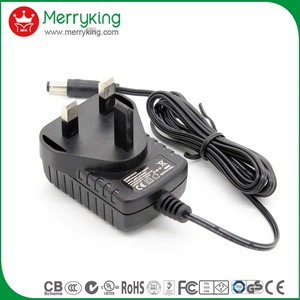 US EU plug available 230v 50hz 12v ac adapter UL CE GS certified
