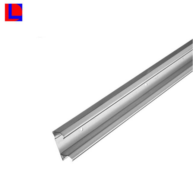 extruded aluminium rail for wardrobe sliding door rail