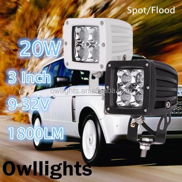 Truck Car Parts Led Blue Point Warning Light Truck Forklift 3inch ...