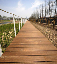 Carbonizzato e pressato decking di <span class=keywords><strong>bambù</strong></span> 20mm outdoor caramellata pavimenti in