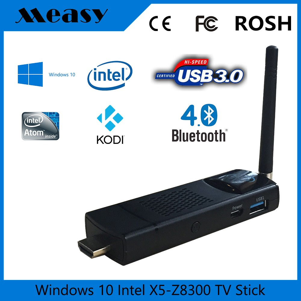measy t8c T5 MINI PC Win 10 home <strong>TV</strong> <strong>Dongle</strong> Intel Z8300 UHD 4K HDM 1.4 4GB RAM 64GB ROM Built-in Fan <strong>TV</strong> <strong>Box</strong>
