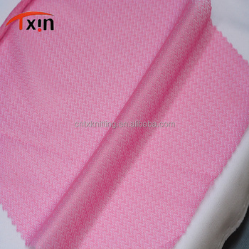 Tongxin Textile pink smooth polyester plain net mesh fabric mesh gift fabric wrapping