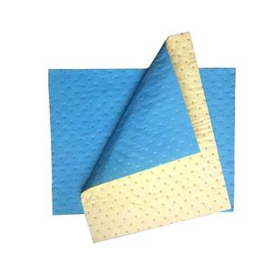 fuel & oil high efficiency sms nonwoven plain OEM oil only absorbent pad for industry