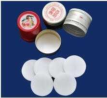 crown seal bottle cap seal wads/Plastic child safety cap seal liner
