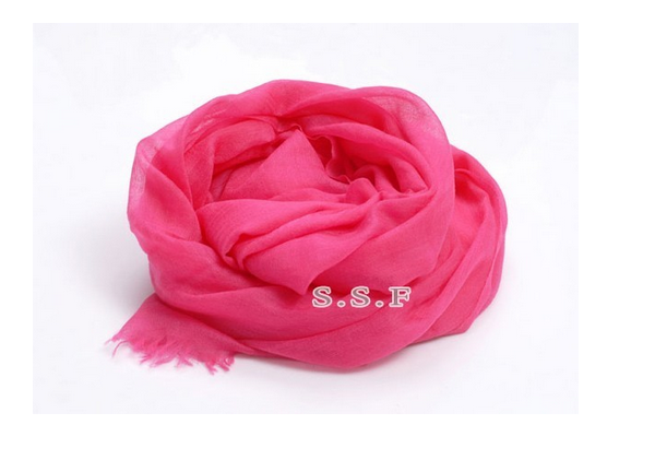 Professional manufacturer super thin 120NM/1 women plain cashmere pashmina shawls